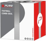 Pure2Improve Football trainer met bal maat 5_