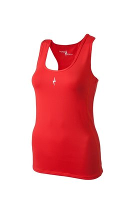 Compression Tee Red - ThunderSports by Pure