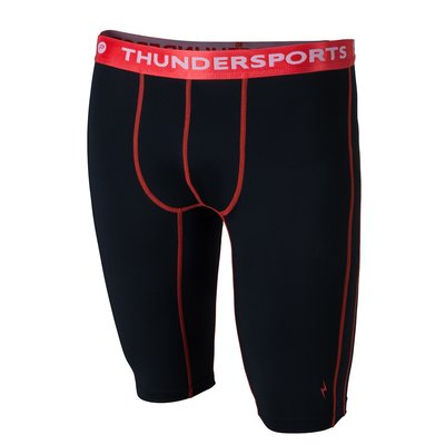 Thundersports Short Zwart Heren