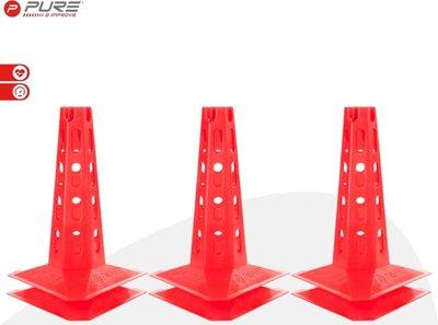 Pure2Improve Cones Set 30cm