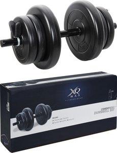 XQ Max Halter 10 Kg Dumbbell zwart