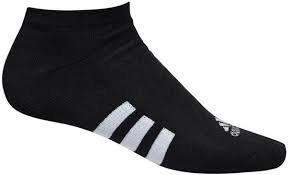 Adidas 6 paar Heren Golf Sokken kort Zwart Maat 44-49