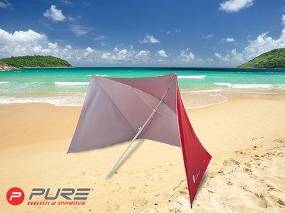 Purebrella Shelter Red 170